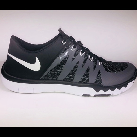 5f0f40245a1c2 Nike Free Trainer 5.0 V6 Black Grey White Sneakers